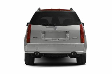 Rear Profile  2004 Cadillac SRX