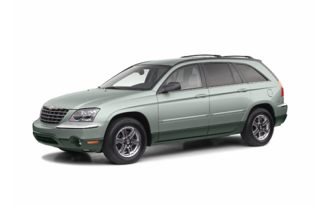3/4 Front Glamour 2004 Chrysler Pacifica