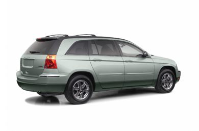 3/4 Rear Glamour  2004 Chrysler Pacifica