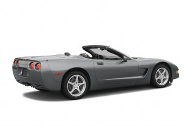 3/4 Rear Glamour  2004 Chevrolet Corvette