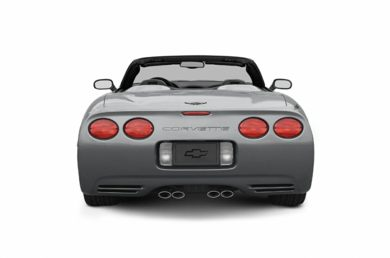 Rear Profile  2004 Chevrolet Corvette