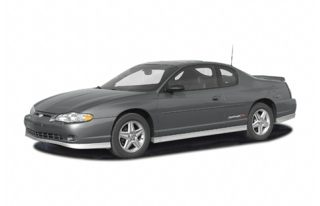 3/4 Front Glamour 2004 Chevrolet Monte Carlo