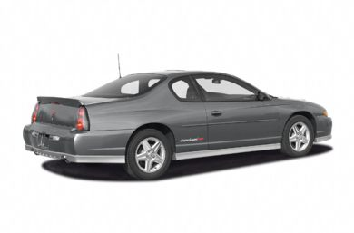 3/4 Rear Glamour  2004 Chevrolet Monte Carlo