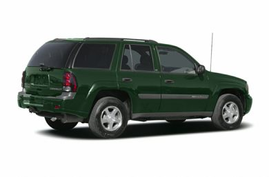 3/4 Rear Glamour  2004 Chevrolet TrailBlazer