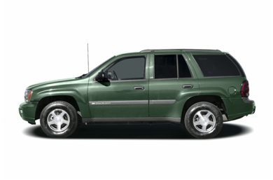 90 Degree Profile 2004 Chevrolet TrailBlazer
