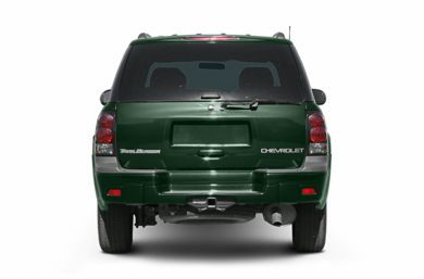Rear Profile  2004 Chevrolet TrailBlazer