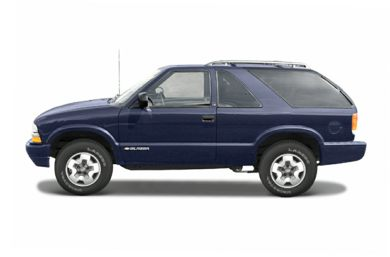 90 Degree Profile 2004 Chevrolet Blazer