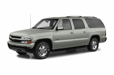3/4 Front Glamour 2004 Chevrolet Suburban 2500