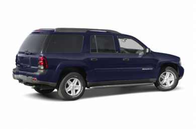 3/4 Rear Glamour  2004 Chevrolet TrailBlazer EXT