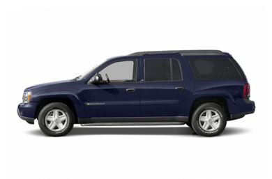 90 Degree Profile 2004 Chevrolet TrailBlazer EXT