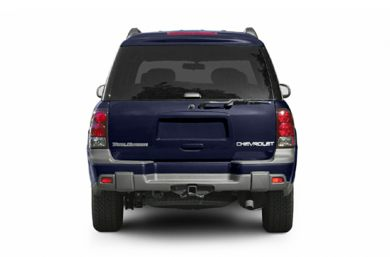Rear Profile  2004 Chevrolet TrailBlazer EXT