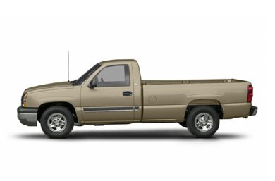 90 Degree Profile 2004 Chevrolet Silverado 2500