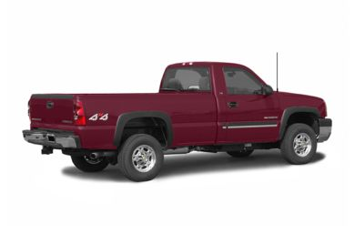 3/4 Rear Glamour  2004 Chevrolet Silverado 2500HD