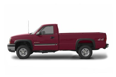 90 Degree Profile 2004 Chevrolet Silverado 2500HD