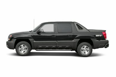 90 Degree Profile 2004 Chevrolet Avalanche 1500