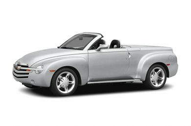 3/4 Front Glamour 2004 Chevrolet SSR