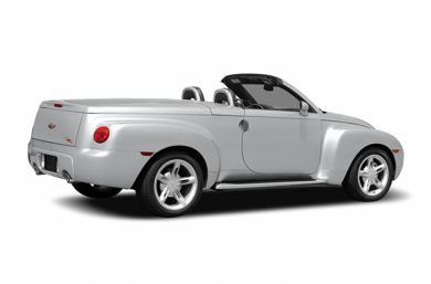 3/4 Rear Glamour  2004 Chevrolet SSR