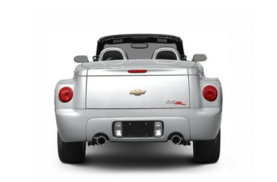 Rear Profile  2004 Chevrolet SSR