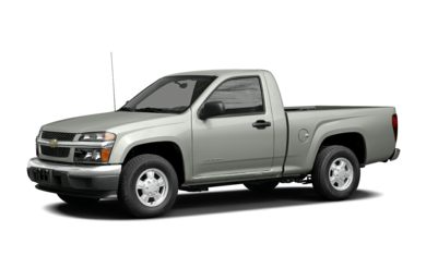 3/4 Front Glamour 2004 Chevrolet Colorado