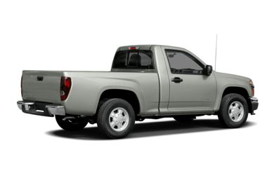 3/4 Rear Glamour  2004 Chevrolet Colorado