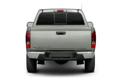 Rear Profile  2004 Chevrolet Colorado