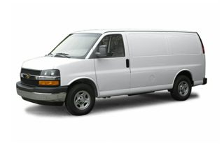 3/4 Front Glamour 2004 Chevrolet Express