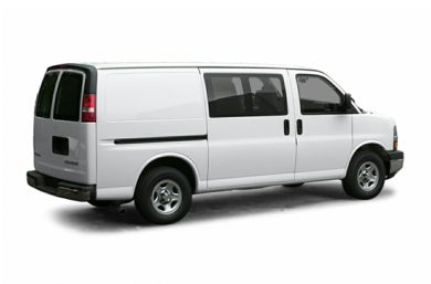 3/4 Rear Glamour  2004 Chevrolet Express