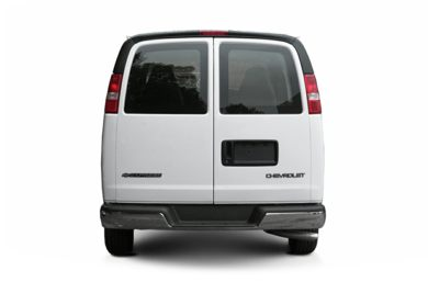 Rear Profile  2004 Chevrolet Express