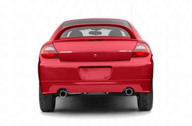Rear Profile  2004 Dodge SRT4