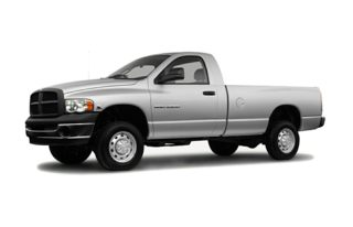 3/4 Front Glamour 2004 Dodge Ram 2500