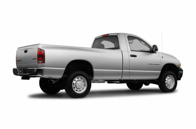 3/4 Rear Glamour  2004 Dodge Ram 2500