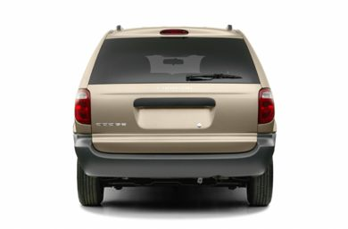 Rear Profile  2004 Dodge Caravan