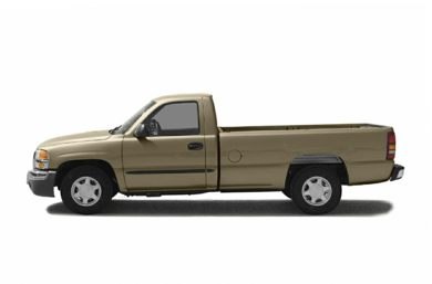 90 Degree Profile 2004 GMC Sierra 1500