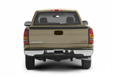 Rear Profile  2004 GMC Sierra 1500