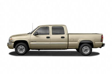 90 Degree Profile 2004 GMC Sierra 2500