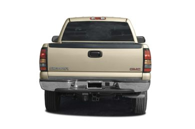 Rear Profile  2004 GMC Sierra 2500