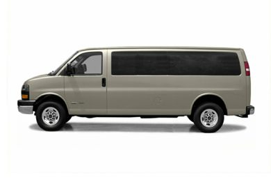 90 Degree Profile 2004 GMC Savana