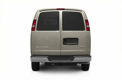 Rear Profile  2004 GMC Savana