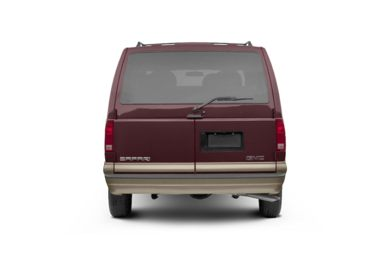Rear Profile  2004 GMC Safari