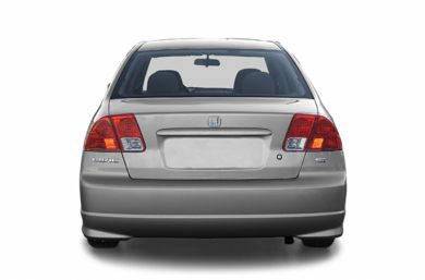 Rear Profile  2004 Honda Civic