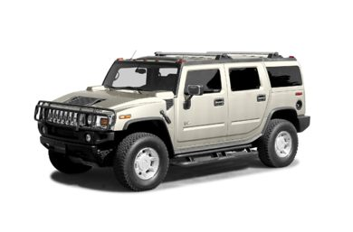 3/4 Front Glamour 2004 HUMMER H2