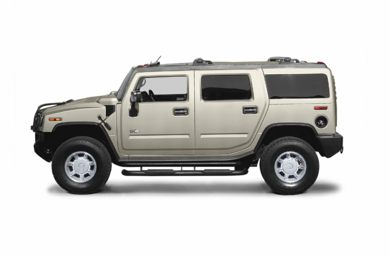 90 Degree Profile 2004 HUMMER H2