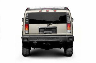 Rear Profile  2004 HUMMER H2