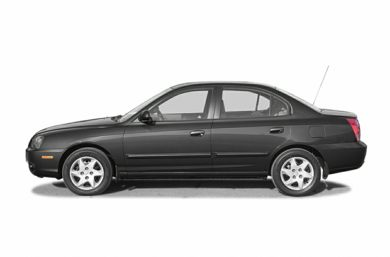 90 Degree Profile 2004 Hyundai Elantra