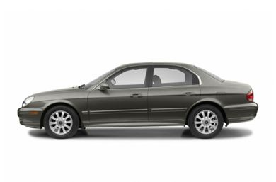 90 Degree Profile 2004 Hyundai Sonata