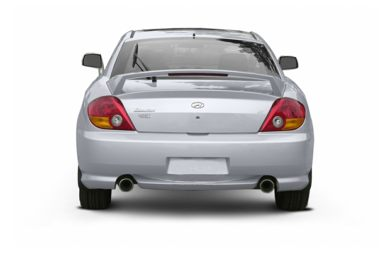 Rear Profile  2004 Hyundai Tiburon