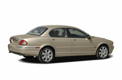 3/4 Rear Glamour  2004 Jaguar X-TYPE