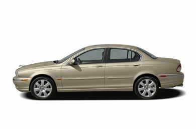 90 Degree Profile 2004 Jaguar X-TYPE