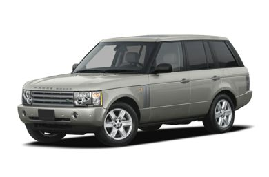 3/4 Front Glamour 2004 Land Rover Range Rover