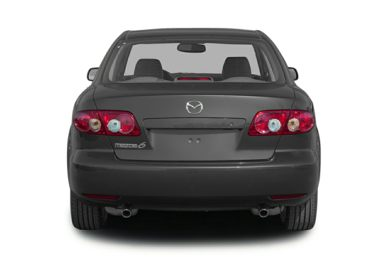 Rear Profile  2004 Mazda Mazda6